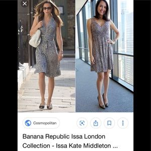Banana Republic Issa London Dress NWOT